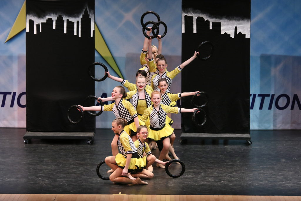 Company at The Pointe - Our Competitive Dance Team